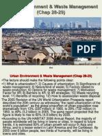 107 Lec 13-14 Urban Waste