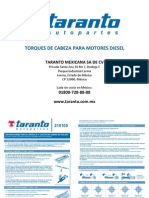 TARANTO Manual de Torques Diesel