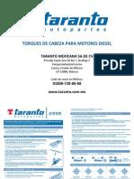 TARANTO Manual de Torques Diesel