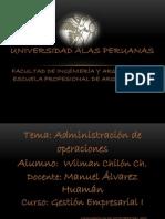 ADMINISTRACION DE OPERACIONES1[1]