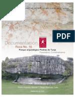 Documentacion de la roca 16 Parque Arqueológico de Facatativá.  2003
