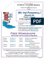 2011 Flyer Big Island Workshops