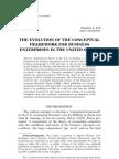Conceptual Framework History Paper