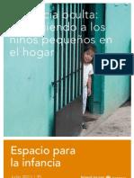 Violencia Oculta Protegiendo a los niños pequeños en el hogar