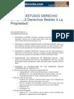 guia de estudio civi II. Derechos Reales y Propiedad