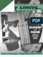 City Limits Magazine, January 1995 Issue