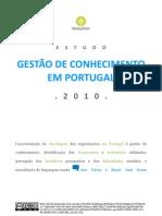 Estudo Gestão do Conhecimento em Portugal - 2010
