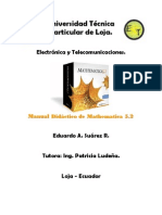 Manual Didáctico de Mathematica 5.2