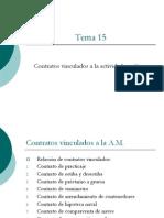 Legislación Marítima- 15 Contratos vinculados a la actividad marítima.Curso UNI 13