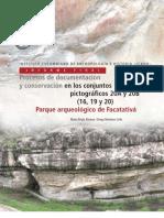Procesos de documentación y conservación en los conjuntos pictográficos 20A y 20B. Parque arqueológico de Facatativá