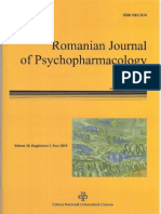 Ph.D. Popescu Angel Iulian Romanian Journal of Psycho Pharmacology 2010