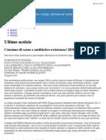 Consumo Di Carne e Antibiotico-resistenza