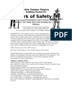 Ark of Safety Audition Packet