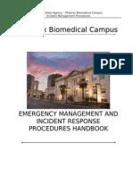 pbc incident management procedures 2011