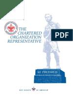 Chartered Organization Rep