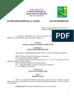Código Tributário Municipal de Águas Lindas