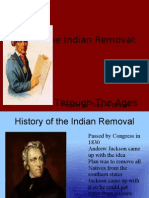 Removal of the Indians Project
