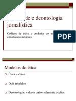 Juventude e deontologia jornalística (TCC)