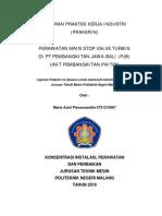 Laporan Prakerin_perawatan Main Stop Valve Turbin_ 0731210067