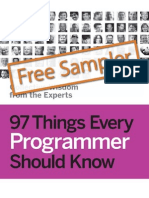 97 Things Every Programmer Sampler