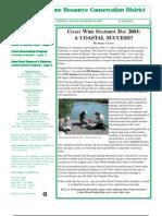 Summer 2003 Sotoyome Resource Conservation District Newsletter