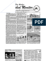 Fall 2006 Modoc Watershed Monitor Newsletter