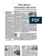 Winter 2006 Modoc Watershed Monitor Newsletter