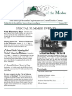 Summer 2004 Modoc Watershed Monitor Newsletter