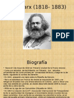Karl Marx (1818- 1883) Final