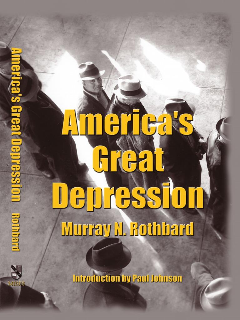 Americau0027s Great Depression by Murray Rothbard