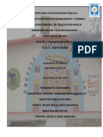 Plan de Dectura 2011
