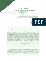(2 de)     PSICOLOGIA