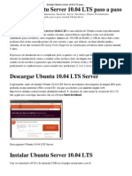 Instalar Ubuntu Server 10