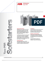 ABB; Softstarters, Type PSR