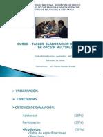 Curso Elab.reactivos FCA 2009