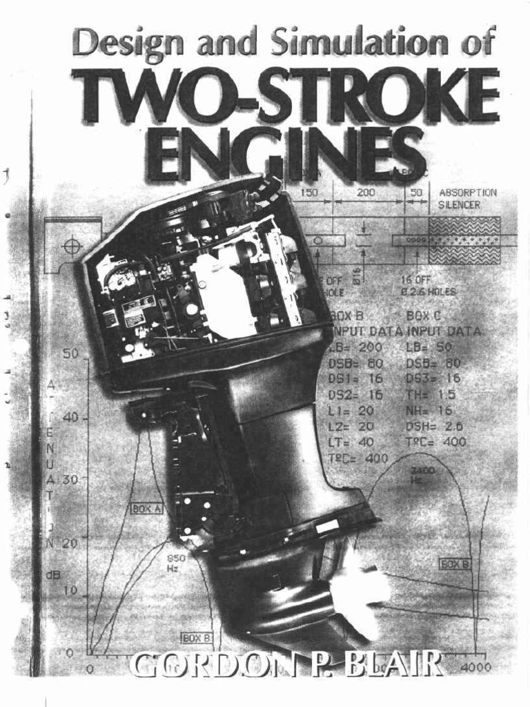 Design And Simulation Of Two Stroke Engines