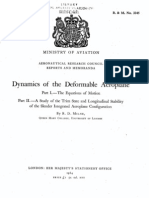 1964 Milne CLASSIC Dynamics of the Deform Able Airplane