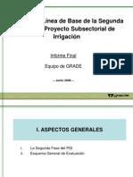Estudio de Línea de Base de la Segunda Fase del Proyecto PSI
