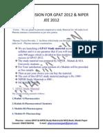 Free Materials Form Pharma Vision