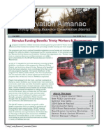 Fall 2009 Conservation Almanac Newsletter, Trinity County Resource Conservation District