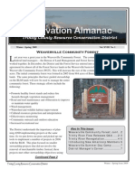 Winter ~ Spring 2009 Conservation Almanac Newsletter, Trinity County Resource Conservation District
