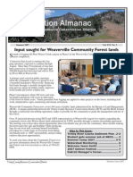 Summer 2007 Conservation Almanac Newsletter, Trinity County Resource Conservation District