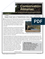 Fall 2006 Conservation Almanac Newsletter, Trinity County Resource Conservation District