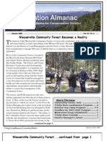 Summer 2006 Conservation Almanac Newsletter, Trinity County Resource Conservation District