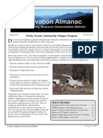 Spring 2005 Conservation Almanac Newsletter, Trinity County Resource Conservation District