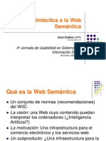 Web Semantic a 2007