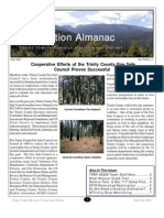 Fall 2002 Conservation Almanac Newsletter, Trinity County Resource Conservation District