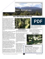 Summer 2002 Conservation Almanac Newsletter, Trinity County Resource Conservation District