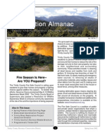 Spring 2002 Conservation Almanac Newsletter, Trinity County Resource Conservation District