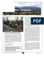 Fall 2001 Conservation Almanac Newsletter, Trinity County Resource Conservation District